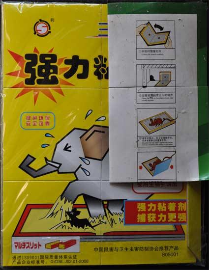 Rat China glue trap