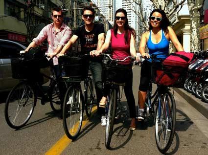 Bikes In Shanghai bikes in Shanghai
